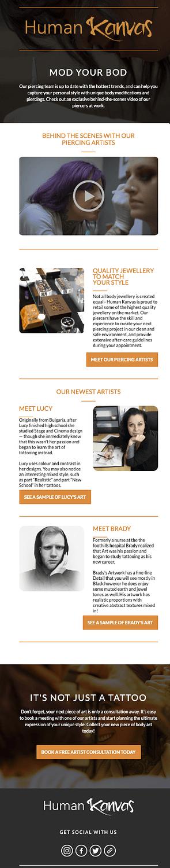 Human Kanvas Email marketing