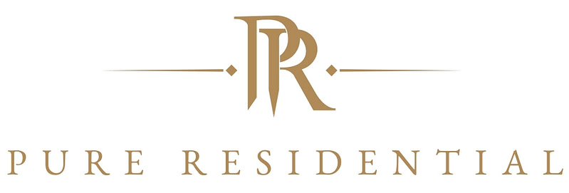 PURE Residential Logo design