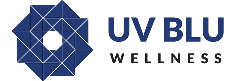 UVB Wellness Logo design