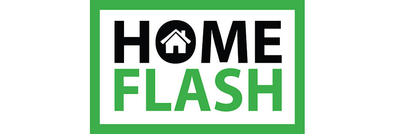 HomeFlash Logo Design