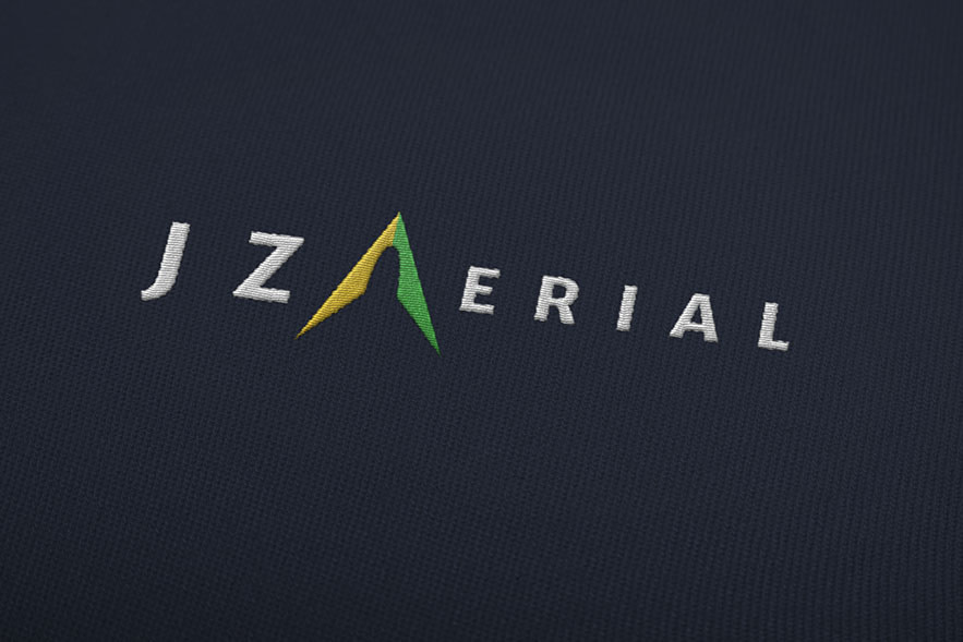 JZ Aerial Embroidered Branding