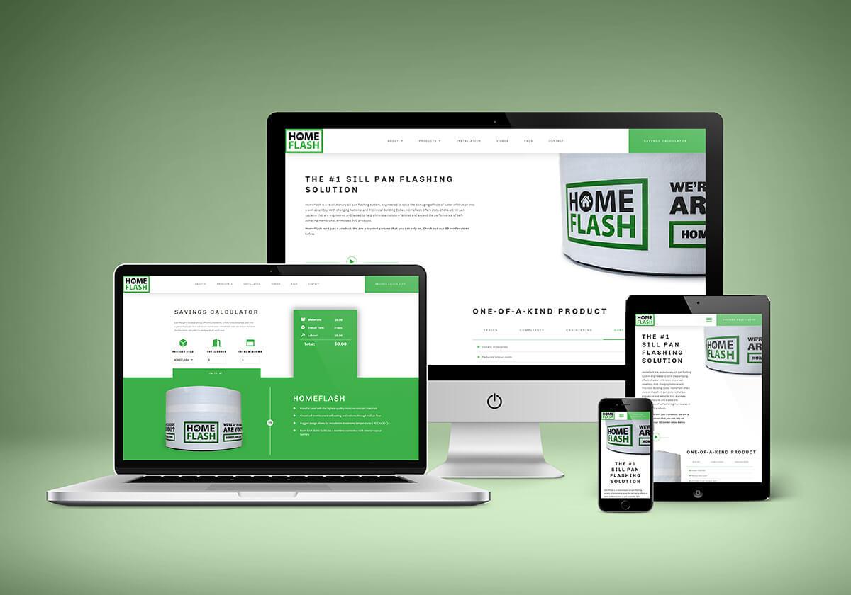 (HomeFlash) Site Design Mockup - 2020