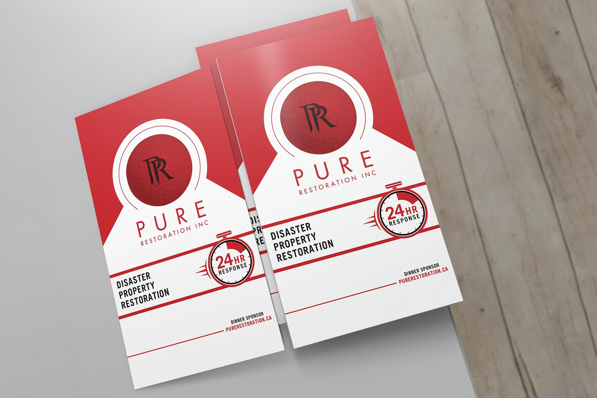 PURE Restoration Brand Asset