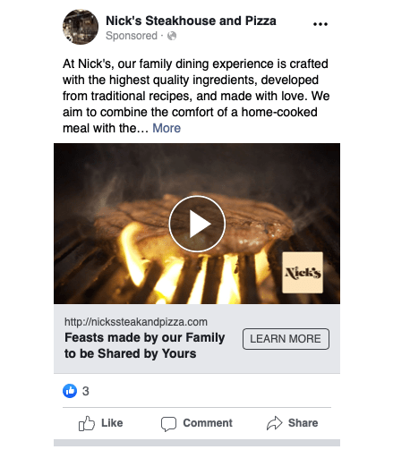 Nicks Facebook Ad 1