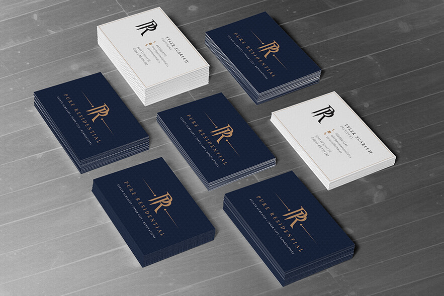 PURE Residential Business Cards