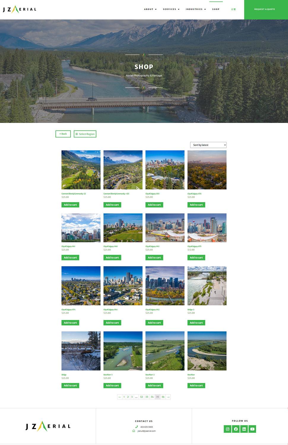 (JZ Aerial) 2020 Shop Screenshot Update